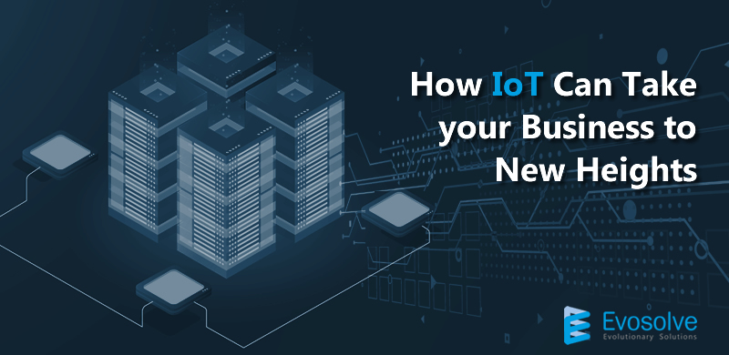 How IoT can Take your Business to New Heights